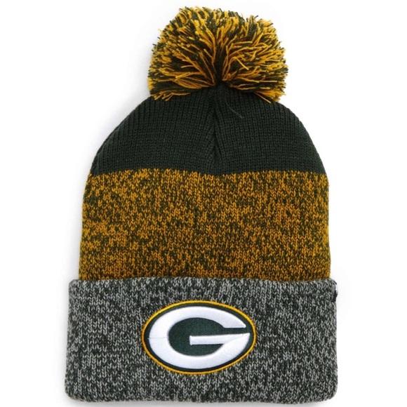 Green Bay Packers Static Cuff Knit Beanie feb201396
